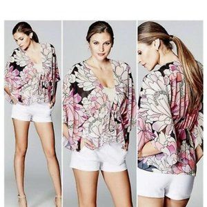 MARCIANO Gradient Garden  Floral Cover-Up M/L